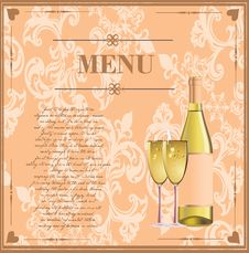 Free Menu Card For Drinks Stock Photos - 18160393