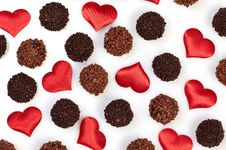 Free Chocolate Truffles Royalty Free Stock Photos - 18160888