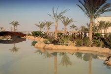 Egypt Resort Royalty Free Stock Photography