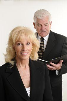Free Senior Management Stock Photography - 18161212