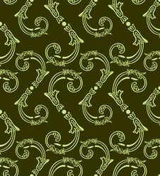 Free Seamless Floral Background Royalty Free Stock Photography - 18161237