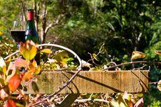Free Bottle Of Wine Royalty Free Stock Photo - 18161265