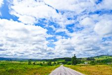Free Summer Road Royalty Free Stock Photography - 18162097
