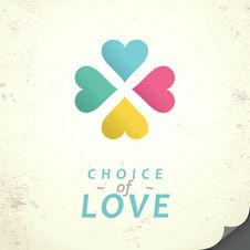 Choice Of Love Royalty Free Stock Photography