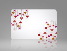 Free Love Card Stock Photography - 18162792