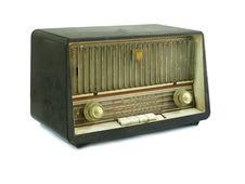 Free Vintage Fashioned Radio Stock Image - 18163041