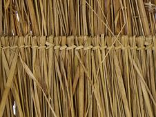 Free Texture Of Thatch Roof Stock Image - 18163071