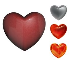 Free 3d Heart Collection Stock Images - 18163094