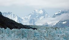 Free Glacier And Mountain View Stock Image - 18163581