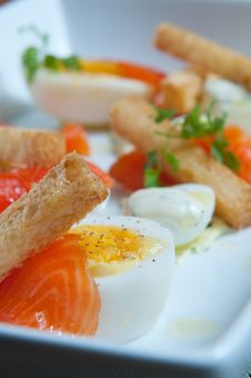 Free Fresh Smoked Salmon Stock Photos - 18163753