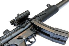 Free Hk MP5 SD6 Royalty Free Stock Photo - 18163855