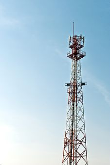 Free Communication Tower. Royalty Free Stock Images - 18164039
