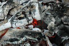 Fire Coals Royalty Free Stock Photo