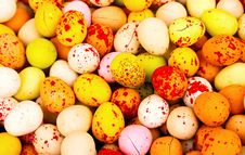 Free Easter  Candy Eggs Royalty Free Stock Photos - 18164528