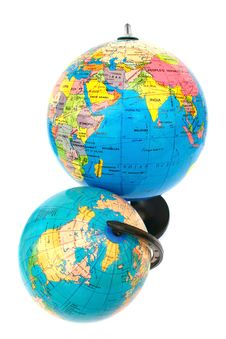 Free Globes Royalty Free Stock Photos - 18164568