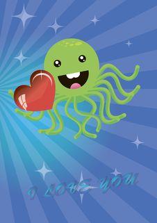 Free Octopus Stock Image - 18164781