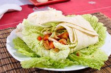 Kebab - Traditional Turkish Food Royalty Free Stock Photo