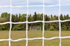 Free Outdoor Soccer Field Royalty Free Stock Image - 18164876