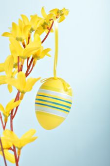 Free Hand-painted Easter Egg Royalty Free Stock Images - 18166339