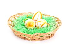 Free Colorful Easter Eggs Royalty Free Stock Image - 18166366