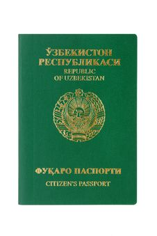 Free Uzbekistan Passport Stock Images - 18166474