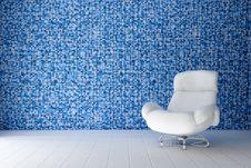 Free White Leather Chair Stock Photos - 18167233