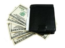 Free Wallet With Dollars Stock Photo - 18167280