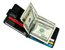Free Wallet With Dollars Royalty Free Stock Photos - 18167298