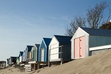 Free Beach Huts. Royalty Free Stock Images - 18167739