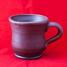 Free Clay Mug Royalty Free Stock Images - 18167819