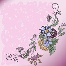 Free Diagonal Pink Background Royalty Free Stock Photo - 18168175