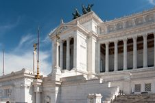 Free Monument Of The Vittorio Emanuele II Royalty Free Stock Image - 18168236