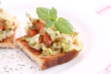 Free Bruschetta Stock Photo - 18168680