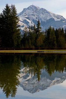 Free Alpine Landscape Stock Images - 18168704