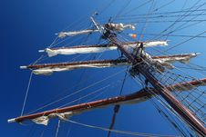 Free Tall Ship Mast Stock Photo - 18169090