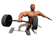 Free Bodybuilder Royalty Free Stock Photo - 18169835