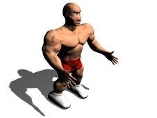 Free Bodybuilder Royalty Free Stock Image - 18169836