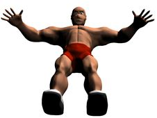 Free Bodybuilder Stock Image - 18169871
