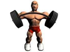 Free Bodybuilder Royalty Free Stock Photo - 18169885