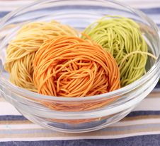 Free Colourful Noodles Royalty Free Stock Images - 18169919