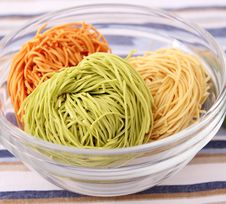 Free Colourful Noodles Royalty Free Stock Images - 18170069