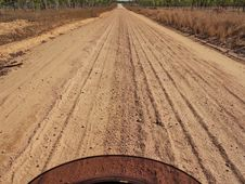 Free Australia, Country Sand Road, Royalty Free Stock Photos - 18173658