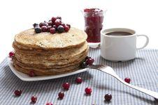 Free Russian Pancakes Stock Image - 18173661