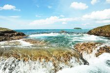 Free The Sea In Thailand Royalty Free Stock Image - 18173896
