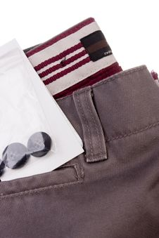 Free New Trousers Royalty Free Stock Photography - 18174047