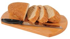 Free Bread. Isolated Royalty Free Stock Photos - 18174118