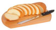Free Bread. Isolated Stock Photo - 18174130