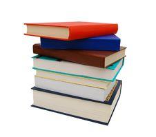 Free Books Pile Isolated Stock Photos - 18174133