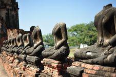 Ruin Buddha Stock Images