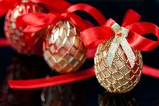 Free Decorated Eggs Royalty Free Stock Photos - 18174548
